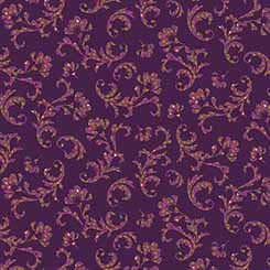 Ashtyn SCROLL PLUM