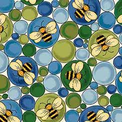 Ellery BEES & BUBBLES CREAM/BLUE