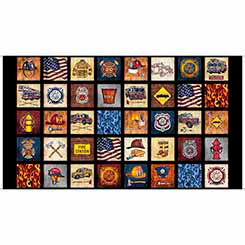 5 Alarm EVERYTHING FIREFIGHTER PATCHES BLACK