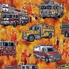 5 Alarm Firetrucks 26291-O