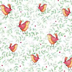 Love Grows Here BIRDS GREEN