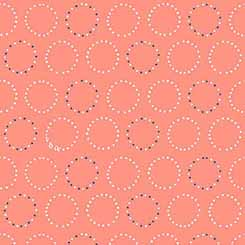 Melodie 26311-C<br>Circle Geometric Coral