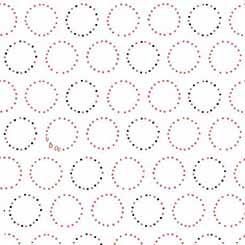 Melodie 26311-Z<br>Circle Geometric White