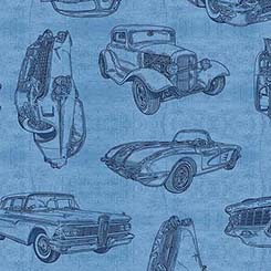 MOTORIN SKETCHES BLUE