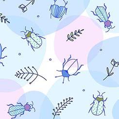Thalia BEETLES BLUE