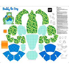 SEW & GO III BUDDY THE FROG STUFFABLE