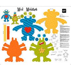 Sew & G0 III Mod Monsters Panel 20