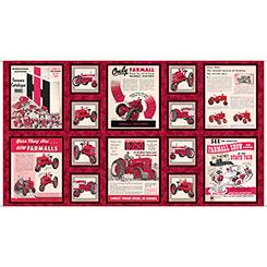 Farmall Show FARMALL ADS RED