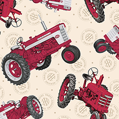 FARMALL SHOW TOSSED TRACTORS
