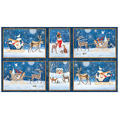 Woodland Dream Winter Vignette Patches