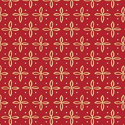 Woodland Dream Star Foulard - Red