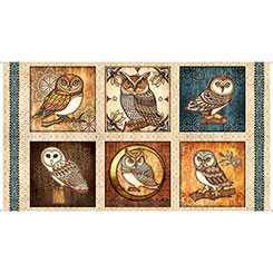Where The Wise Things Are OWL PICTURE PATCHES CREAM