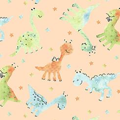 Dino-mite BABY DINOS Peach