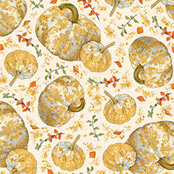 Autumn Shimmer TOSSED PUMPKINS CREAM