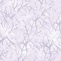 Q - Quilting Treasures - JACQUELINE - BRANCHES - PALE PINK