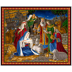 QT Miracle in Bethlehem 36 Panel 26570-X