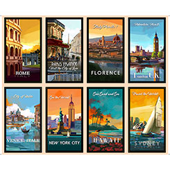Artworks VV Travel Posters