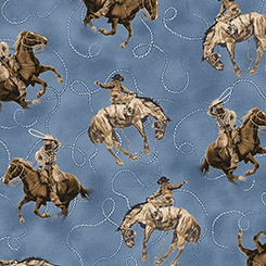 Round 'Em Up COWBOY ON HORSE 26605-B