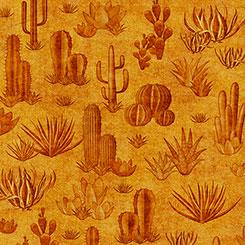 Gold Southwest Soul Cactus