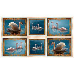 Splendid Swans SWAN PICTURE PATCHES CREAM