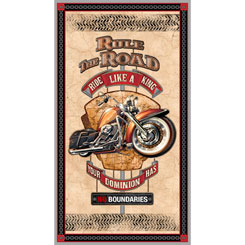 RULE THE ROAD PANEL CREAM