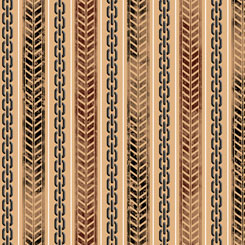 TIRE TRACK & CHAIN STRIPE TAN