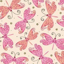 Aziza Butterflies Cream