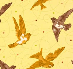 Marlena BIRDS YELLOW
