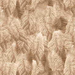 FLYING GEESE FEATHERS DK TAN