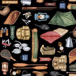 Backcountry Camping Motifs - 26731-J