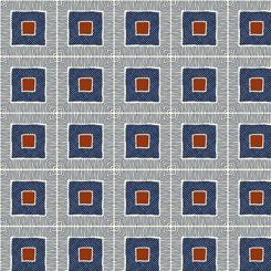 Gretta Squares Navy 26740