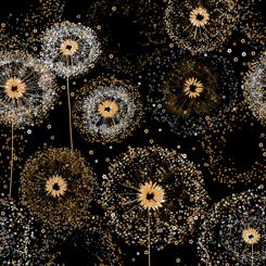 Whisper Dandelion Puffs Black