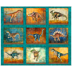 LOST WORLD LARGE DINOSAUR PATCHES