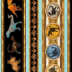 Lost World - Dinosaur Decorative Stripe - 26799