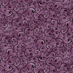 JULIETTE SCROLL-Plum