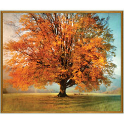 Artworks XX AUTUMN TREE PANEL MULTI