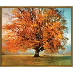 QT - ARTWORKS X AUTUMN TREE PANEL MULTI - 26858-X - H16