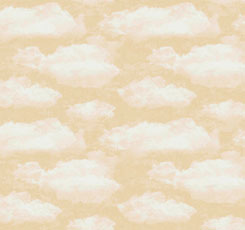 SPECIALTY FABRICS ROOM:  White Clouds on Cream:  Faith by Dan Morris for Quilting Treasures