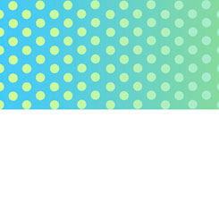Party Like A Unicorn OMBRE DOTS BLUE/GREEN-26911-BG