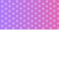 Party Like A Unicorn OMBRE DOTS PURPLE/PINK