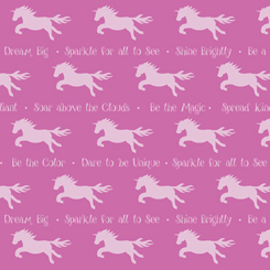 Party Like A Unicorn UNICORN SILHOUETTES PINK-26913-P
