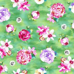 Annabelle floral Jade