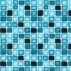 Delilah Box Geometric Turquoise 26960-Q