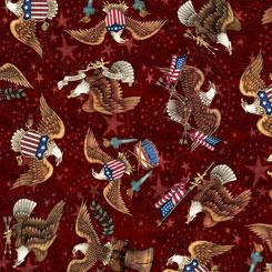 American Pride - Eagle Toss - Brick - 26976-M