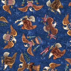 American Pride EAGLE TOSS DENIM