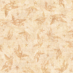 Quilting Treasures American Pride PATRIOTIC BLENDER TAN