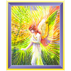 *Artworks XX ANGEL OF PATIENCE PANEL MULTI