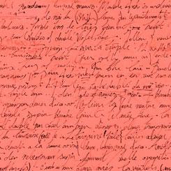 Sweet Caroline - Calligraphy<br>26992-C - Coral