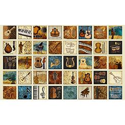 ENCORE MUSICAL INSTRUMENTS PATCHES ECRU - 1649-27013-E