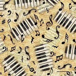 ENCORE PIANO KEYS & NOTES